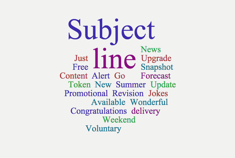 21 Words to Make Your Email Subject Lines Irresistible