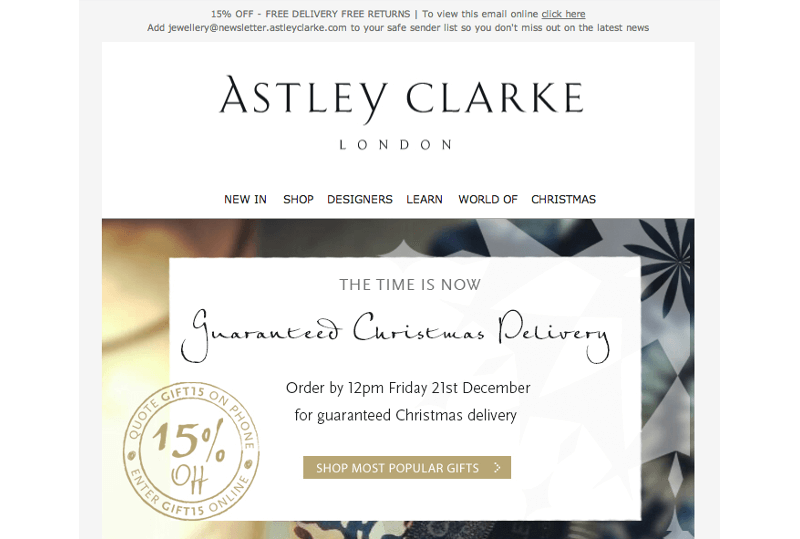 Christmas email marketing tips