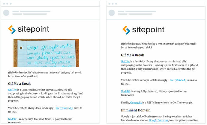 SitePoint-AB-test-email