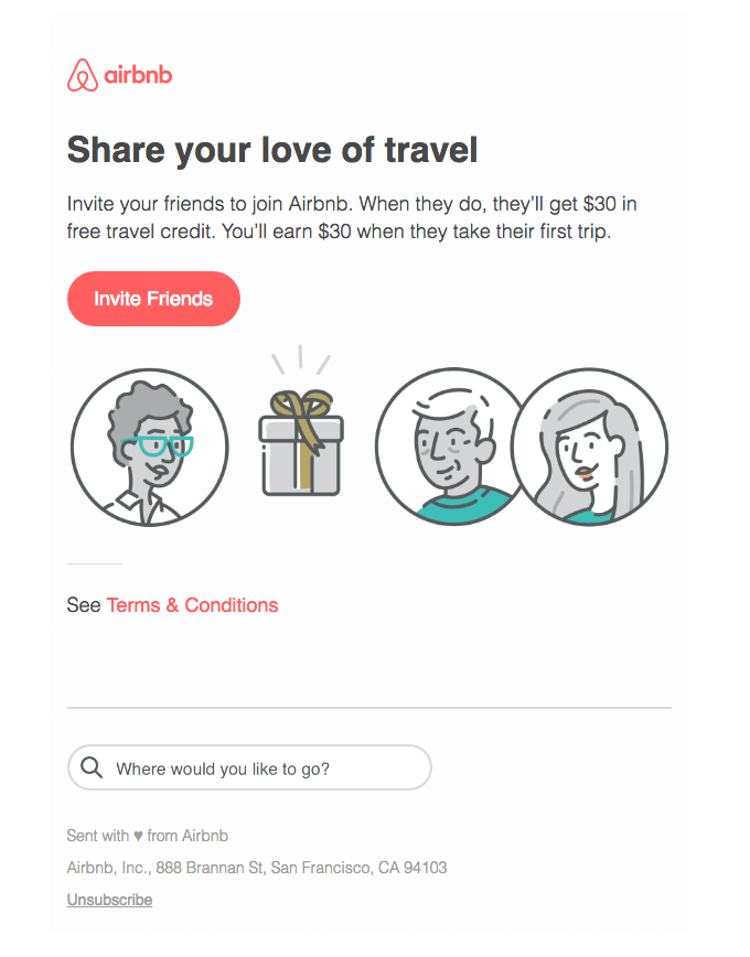 airbnb email template