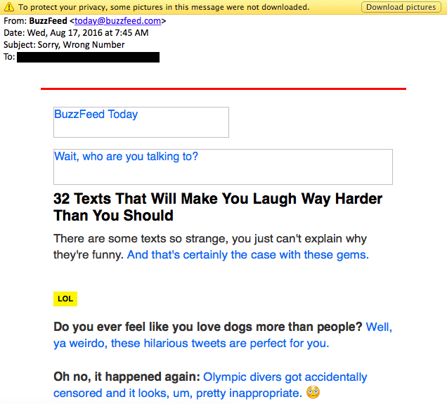 buzzfeed email template