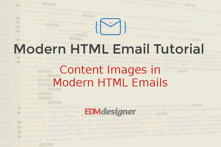 Content Images in Modern HTML Emails