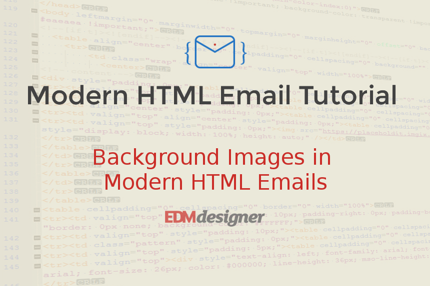 Background Images in Modern HTML Emails