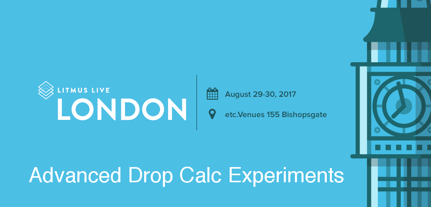 Advanced Drop Calc Experiments