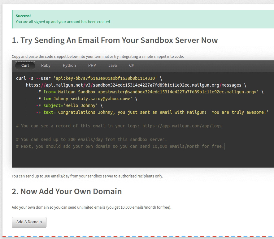 Using Php For Sending Html Emails With Mailgun Sendgrid Amazon Ses