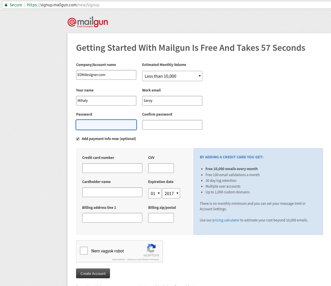 Using PHP For Sending HTML Emails With Mailgun Sendgrid Amazon SES - Send email html template